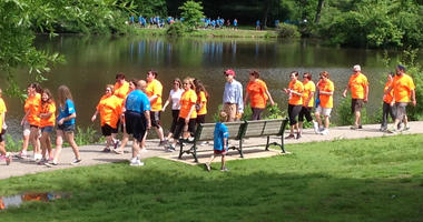 The Valerie Fund Run/Walk held at Verona Park on June 14, 2014