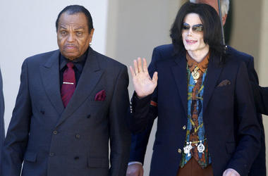 Joe Jackson and Michael Jackson