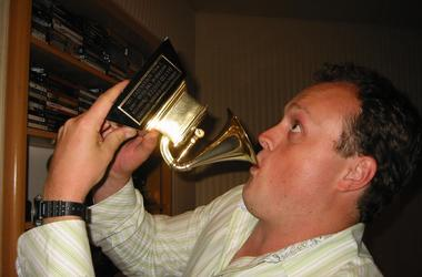 Brad Blanks GRAMMY Trophy