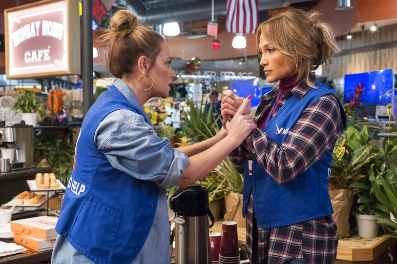 Jennifer Lopez and Leah Remini in 'Second Act'
