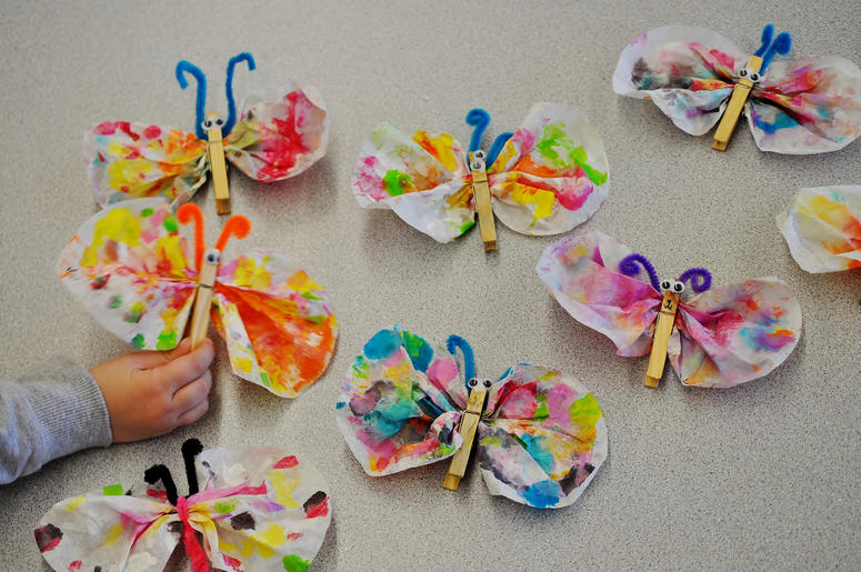 Spring Themed Crafts For Kids Using Recycled Materials Wcbs Fm 101 1