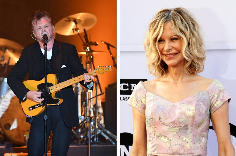 John Mellencamp and Meg Ryan