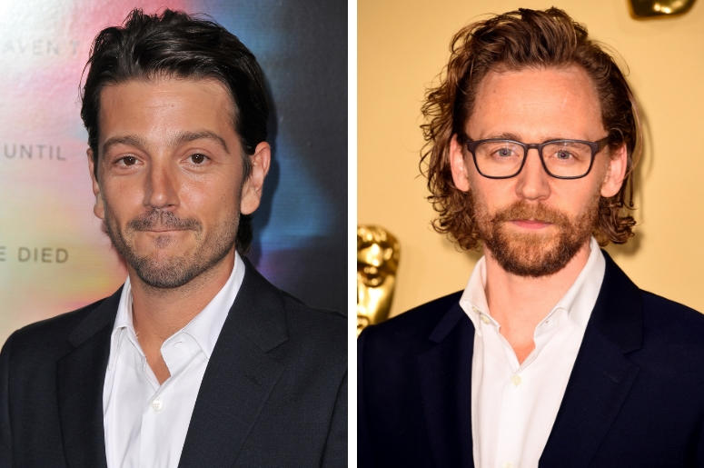 Diego Luna and Tom Hiddleston