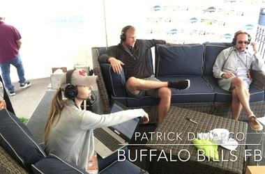 Buffalo Bills FB Patrick DiMarco Joins the Break Room