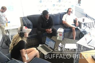 Buffalo Bills Training Camp- DE Jake Metz Talks Arena Football