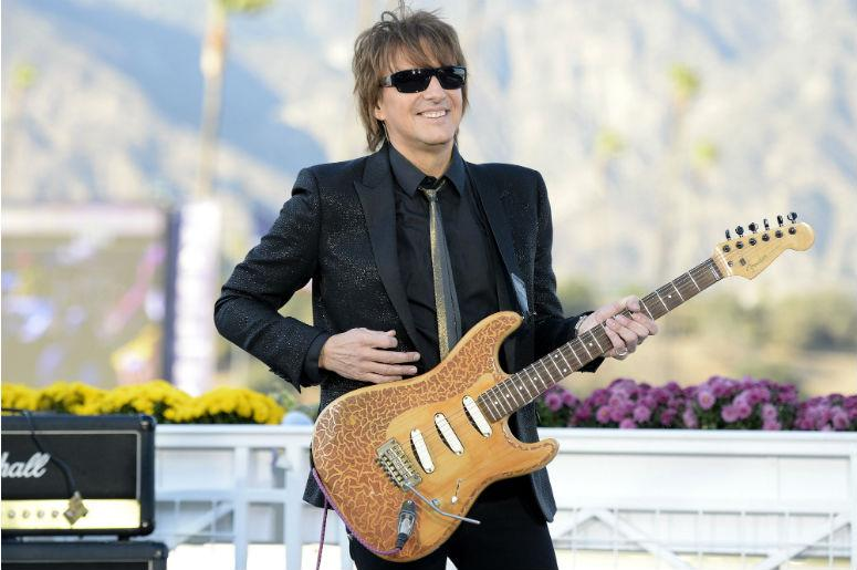 Recording artist Richie Sambora performs at the 2013 Breeders' Cup Championships at Santa Anita Park