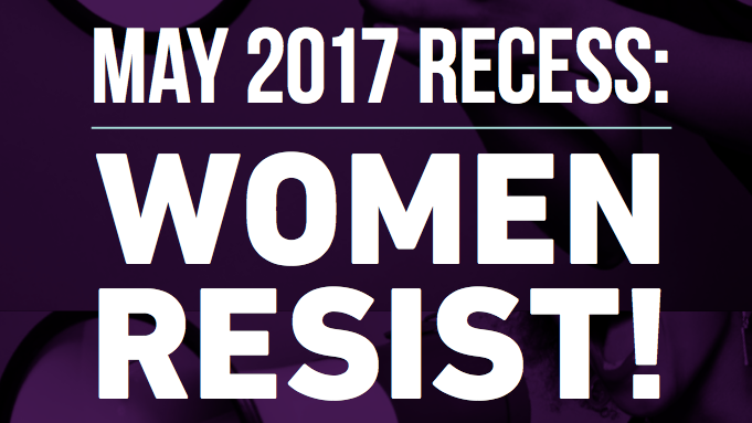 May Recess: Women Resist Toolkit