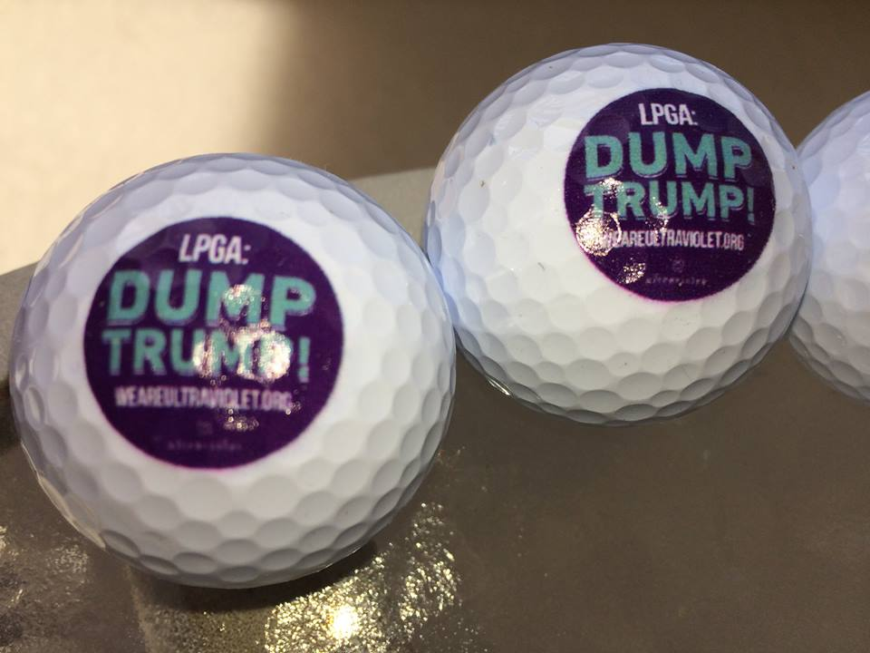 This Sunday: Dump Trump! protest on Trump National golf course