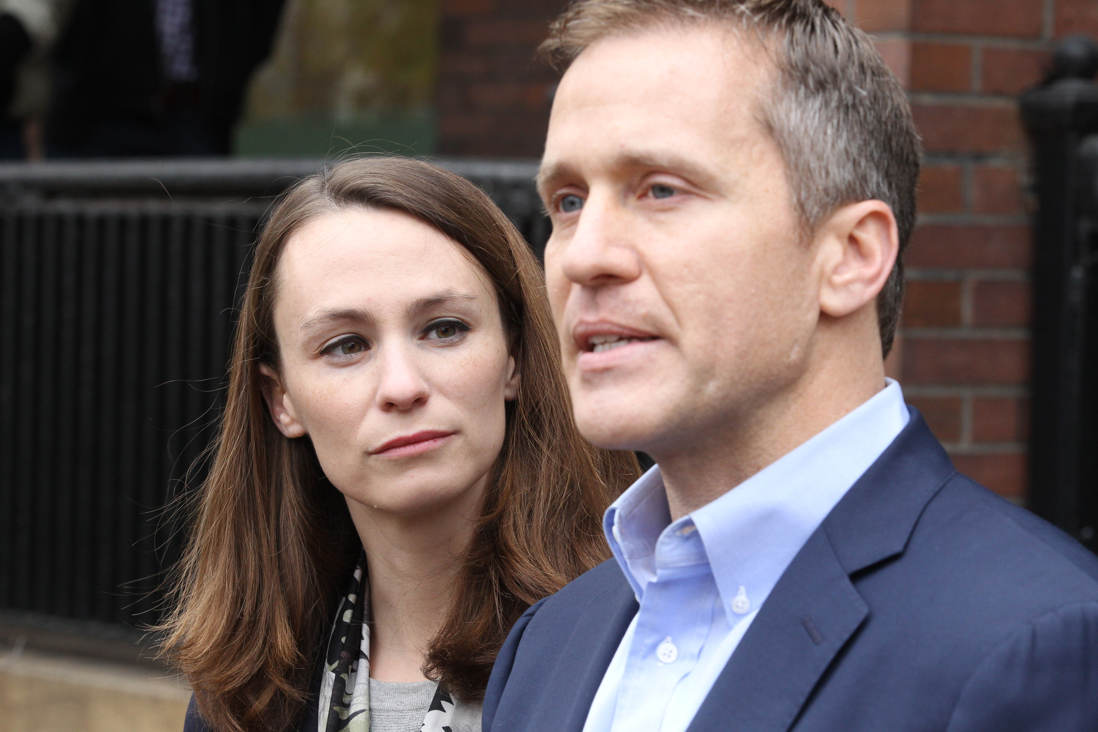 Governor Greitens and his wife