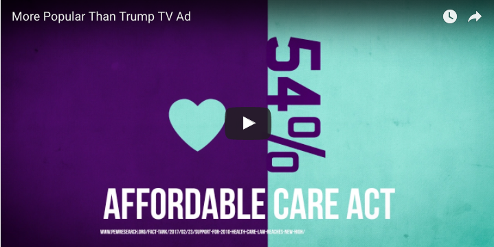 More Popular Than Trump TV Ad