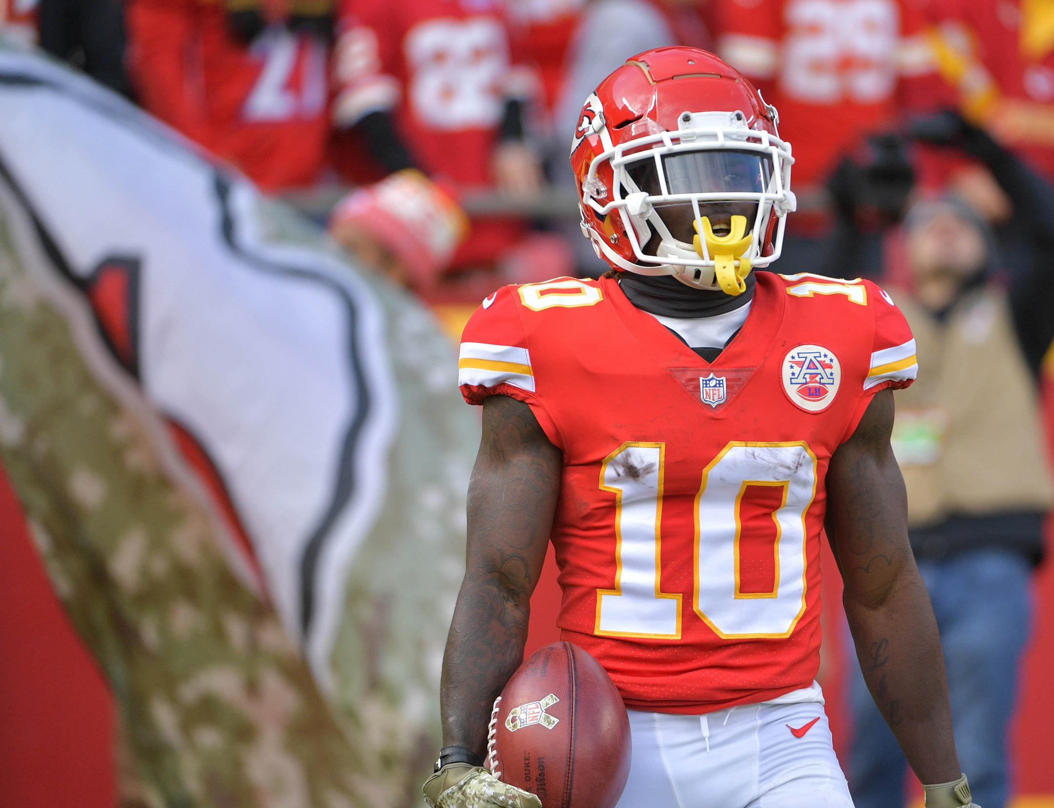 Kansas City Chiefs wide receiver Tyreek Hill reportedly under investigation  for alleged battery involving son ab496c830