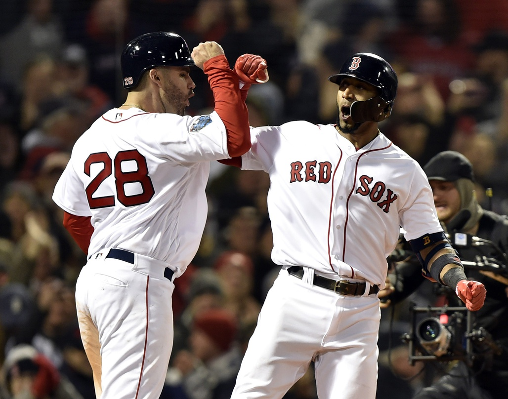 The winning didn't stop for Red Sox in the World Series