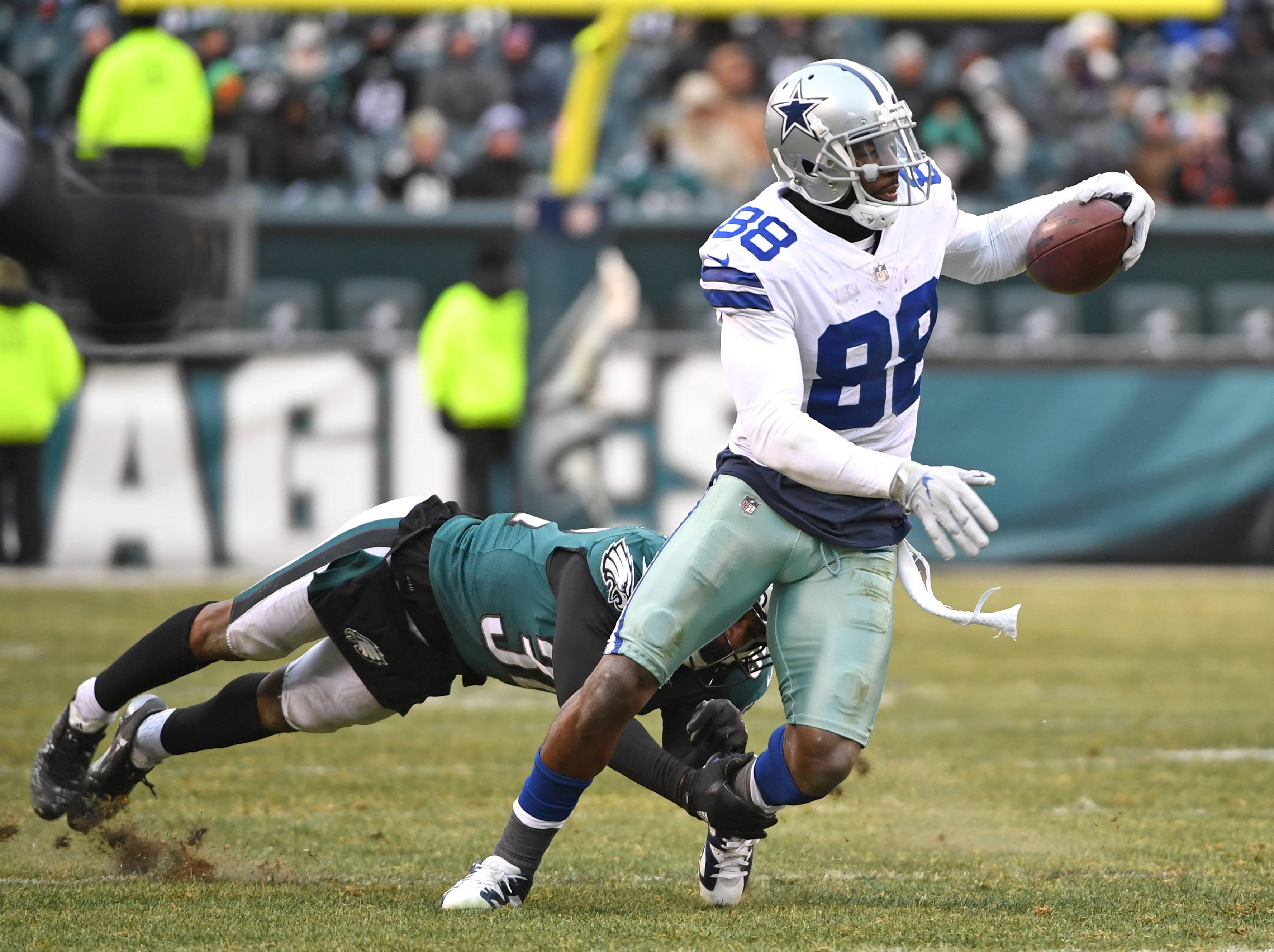 fee008c9c NFL analyst Boomer Esiason doesn t believe Dez Bryant is worth it for  Patriots