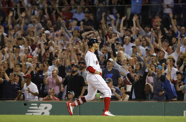 Mookie Betts grand slam Blue Jays Red Sox