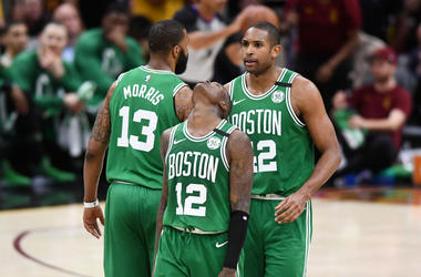 Terry Rozier, Marcus Morris, Al Horford