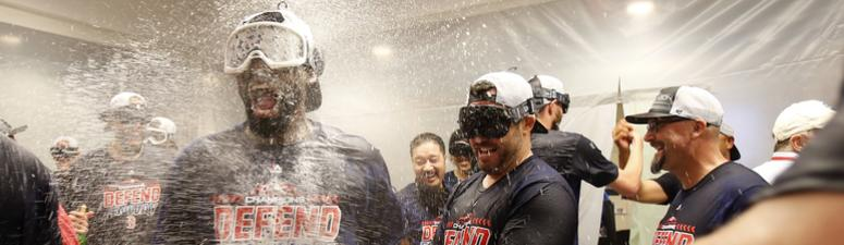 Photos: Red Sox celebrate third straight AL East title