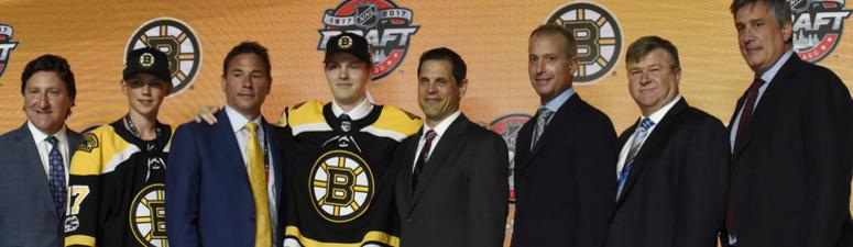 Should the Bruins trade into the NHL draft first round?