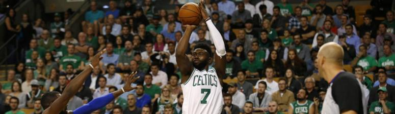 Jaylen Brown placed in concussion protocol following brutal fall