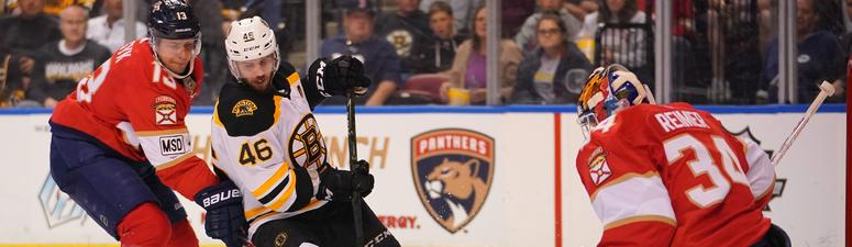 Panthers 3, Bruins 0: Slow start finally hurts Bruins