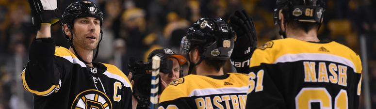 The Bruins were playing as hurt as expected through their playoff run