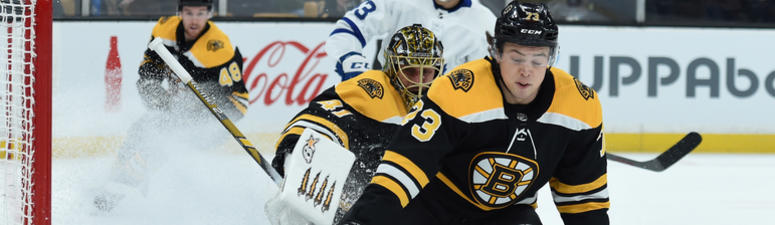 Bruins on 'pins and needles' over McAvoy's health after late hit by Toronto's Hyman