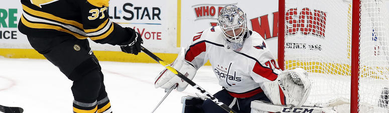 Braden Holtby may not own the Bruins, but he sure plays like he does