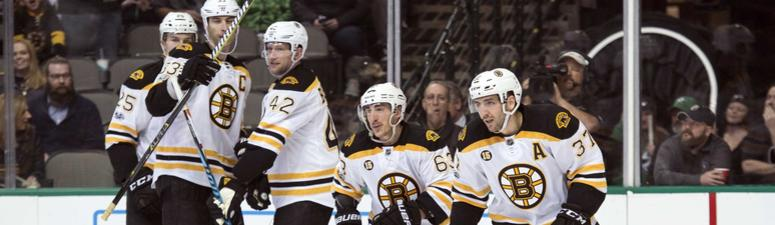 Bruins have been given 33-1 odds to win 2018 Stanley Cup.