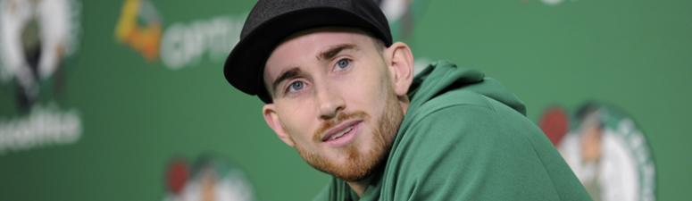 Watch: Gordon Hayward drives, dunks over defender while taking rehab to next level