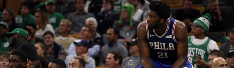 Joel Embiid: Sixers haven't earned right to be called Celtics' rivals