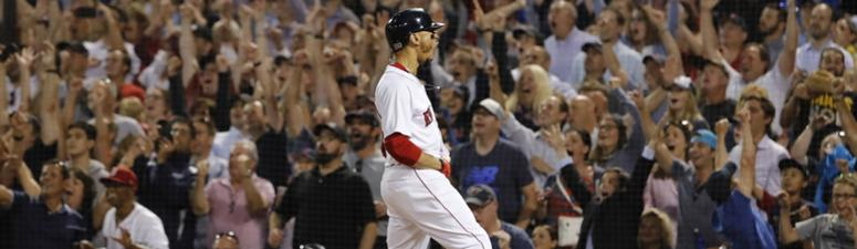 Mookie Betts named American League MVP after leading Red Sox to championship