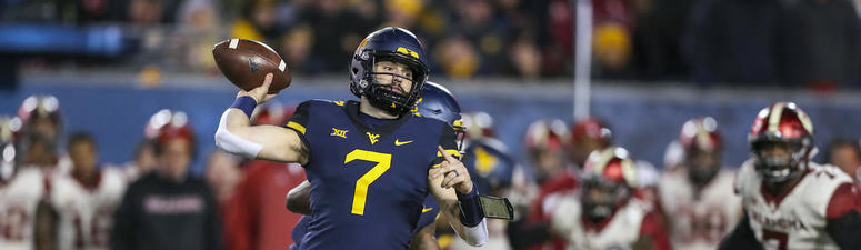 West Virginia quarterback Will Grier