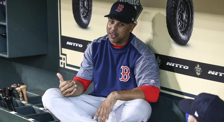 Alex Cora: 'I'm comfortable with the guys we have'