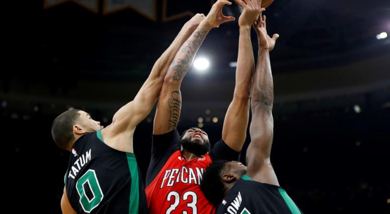 Tomase  Anthony Davis is going to play for the Boston Celtics next ... 1fb3b2e35