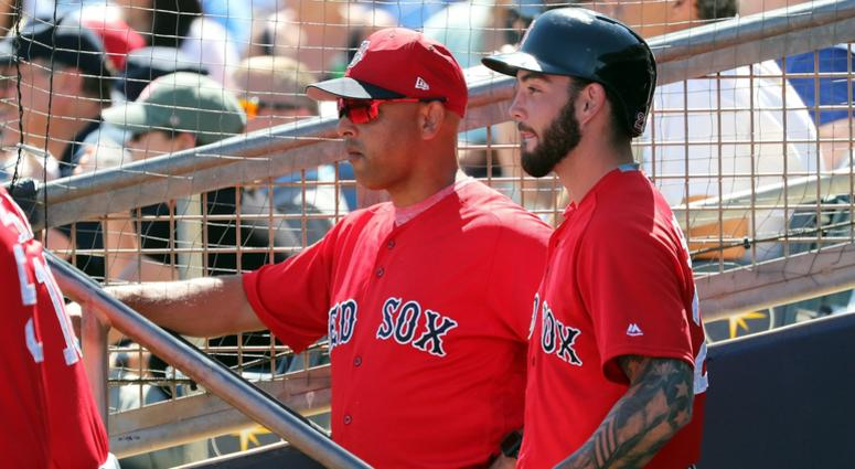 Who is Red Sox' pinch-running threat? Probably a catcher