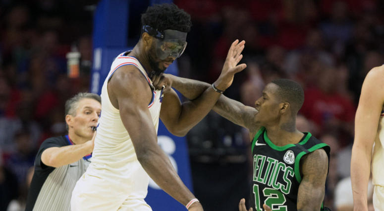 Terry Rozier punches Joel Embiid