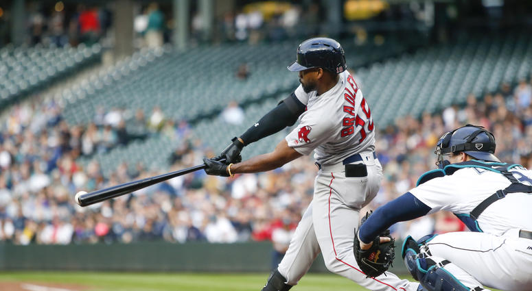 Red Sox lineup: Jackie Bradley Jr. sits as offensive woes mount