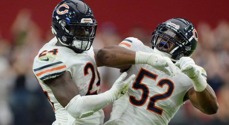 fb58e91f5cb Khalil Mack injury  Bears pass rusher has ankle injury