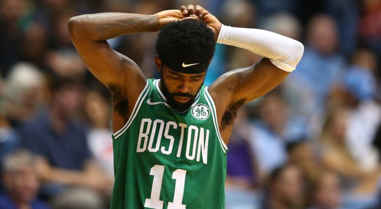 Kyrie Irving admits that he considerd signing with Knicks next summer before committing to Celtics