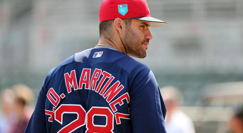 J.D. Martinez tries not to get distracted by new rivalry with ... f966ceacdf4