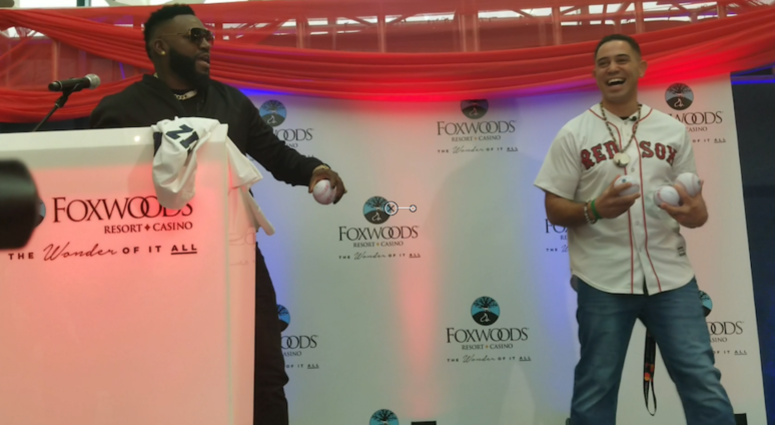 David Ortiz, Foxwoods come together for 'perfect fit'