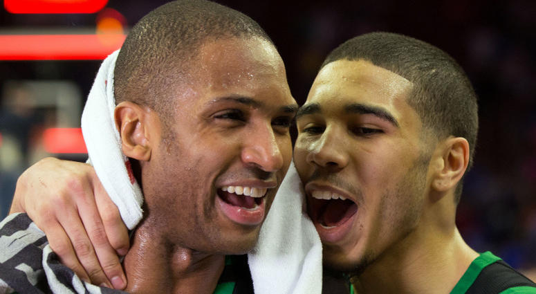 SI got it way wrong -- not only is Al Horford not the Celtics' best player, neither is Irving or Hayward Tatum%20and%20Horford%20Celtics-Sixers%20Game%203%2005.05.18%20Bill%20Streicher%20USA
