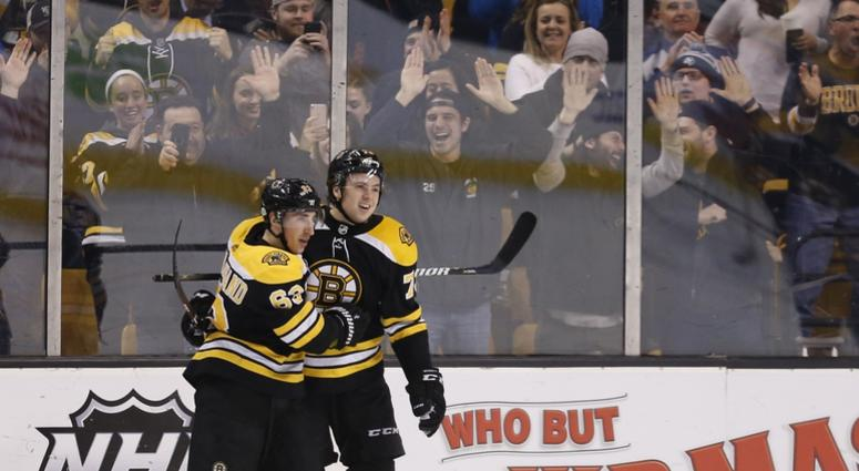 7473b0adb Charlie McAvoy reaches impressive milestone with overtime goal