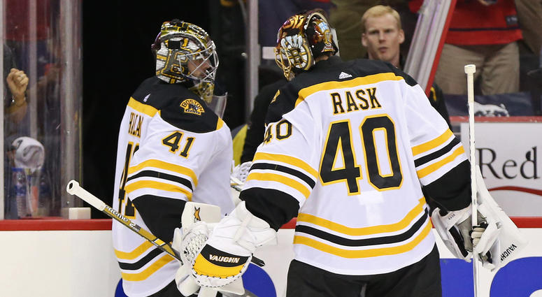 6cac9aa1af7 Boston Bruins blown out after Washigton Capitals raise Stanley Cup ...