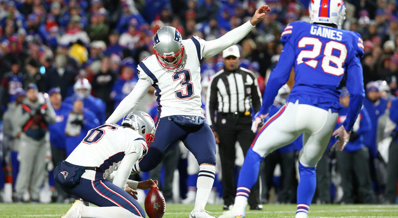 Patriots reportedly working on new deal with Stephen Gostkowski