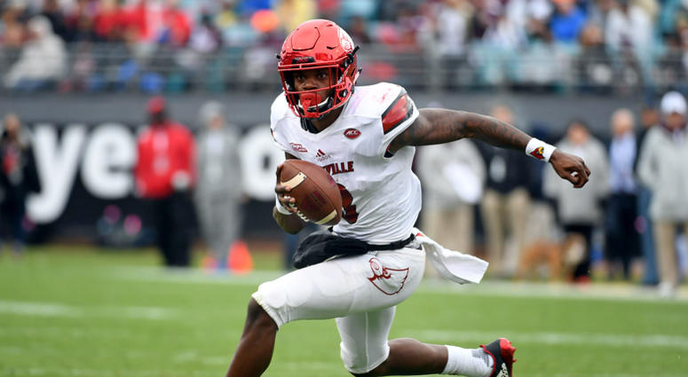 Patriots' interest in Lamar Jackson appears to be very real