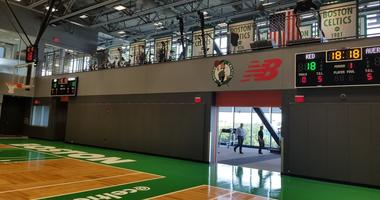 Watch: First look at Celtics' new practice facility