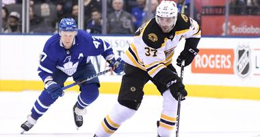 Patrice Bergeron to miss preseason games in China
