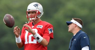 Monday Patriots Training Camp Report: Tom Brady, offense struggle, but there may have been a reason why