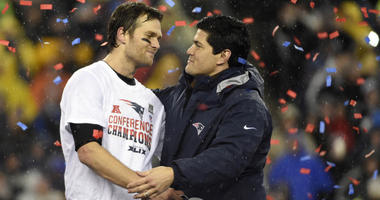 Tedy Bruschi and Tom Brady