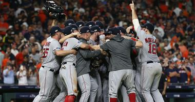 Photos: Red Sox knock off Astros, advance to World Series